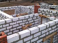 Монтаж стен из существующих материалов: кирпичная кладка, бетон, газобетон, гипсокартон, и другие материалы