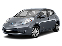 Nissan Leaf в комплектации S, SV, SL с запасом хода 150-250км