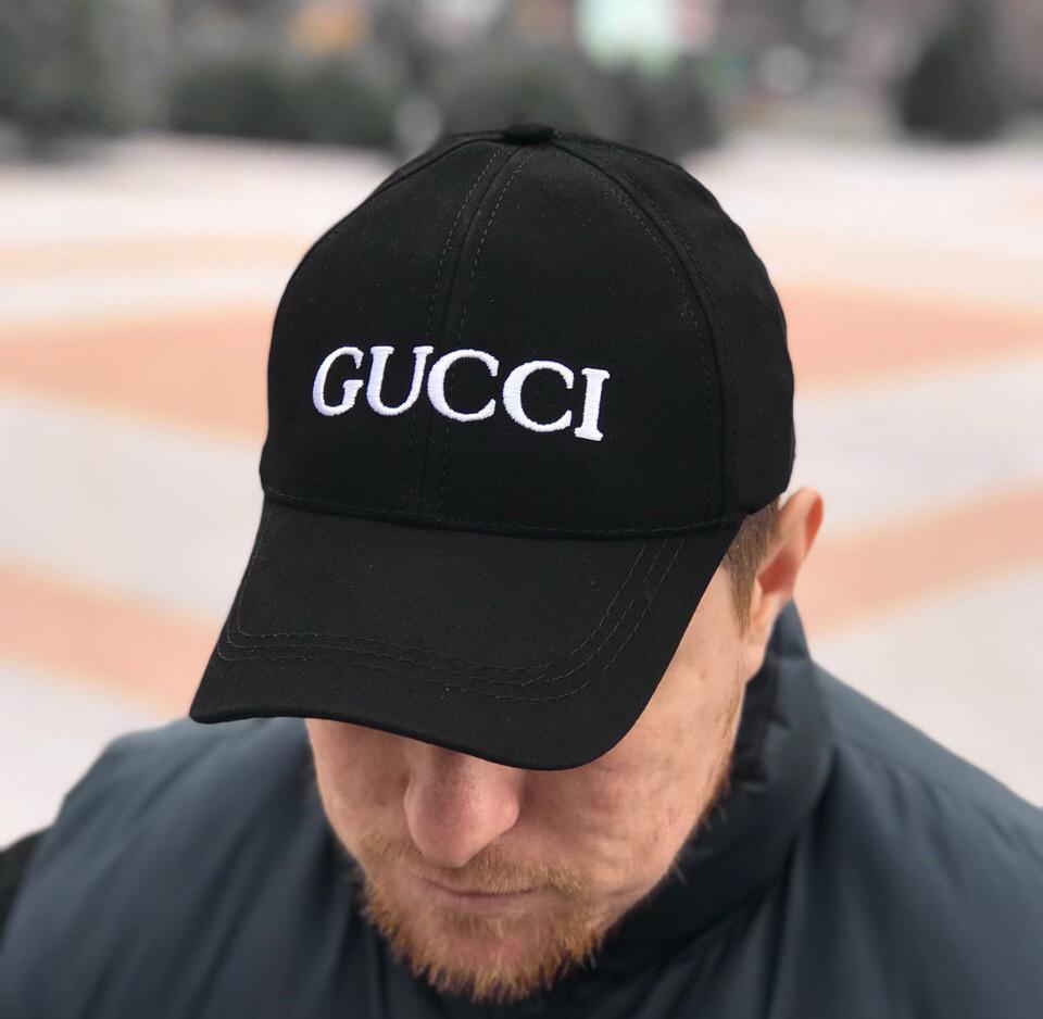 Кепка Gucci D3563 черная