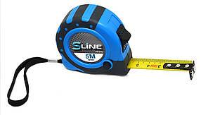 Рулетка с магнитом S-line 3 функции 19 мм х 5 м (15-174)