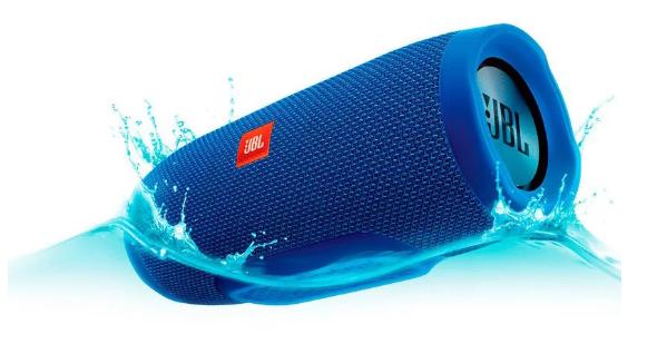 Портативная Bluetooth-колонка JBL Charge 3 Синий