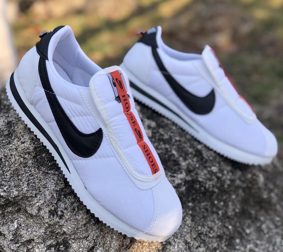 Кроссовки мужские Nike Cortez D6675 белые