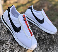 Кроссовки мужские Nike Cortez D6675 белые, фото 1