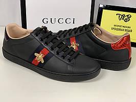Женские кеды Gucci (Гуччи)
