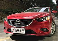 Передние фары Led тюнинг оптика Mazda 6 GJ ксенон стиль 3