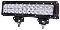 Дополнительные светодиодные противотуманные LED фары балки (1шт) D 72W ближнего света 300x100x65 LED-фары