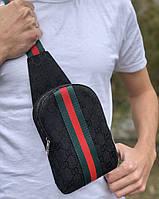 Сумка Gucci D6672 черная, фото 1
