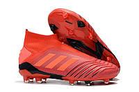 Бутсы adidas Predator 19+ FG red, фото 1