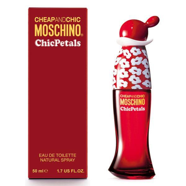 Оригинальный женский аромат Moschino Chic Petals