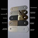 Скрытая дверная петля Tectus TE 540 3D А8 9005 (черная) 100 кг, фото 6
