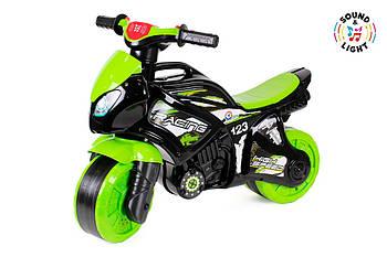 Беговел Мотоцикл ТехноК 5774 с звуковыми и световыми эффектами Гарантия качества Быстрая доставка