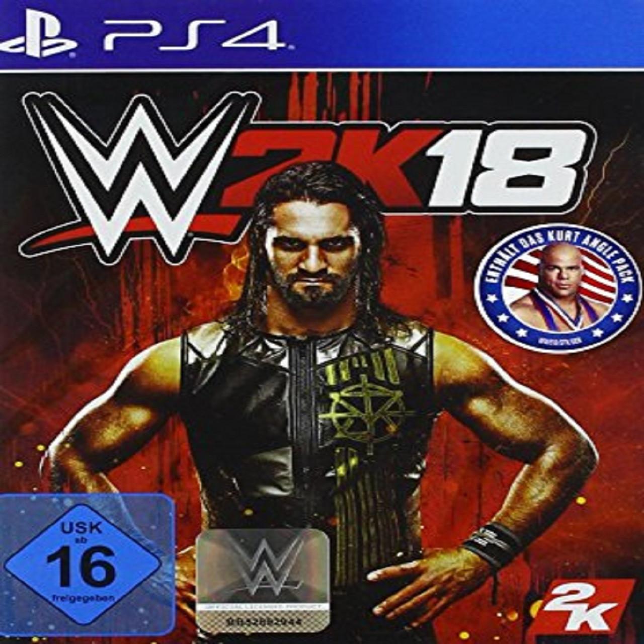 WWE 2K18 ENG PS4 (Б/В)