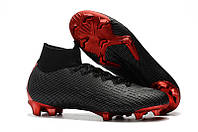 Бутсы Mercurial Superfly VI 360 Elite FG PSG Jordan black, фото 1