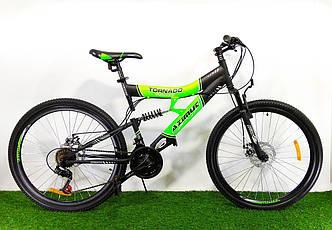 Подростковый велосипед Azimut Tornado 24 D+