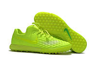 Бутсы сороконожки Nike MagistaX Finale II TF light-green2, фото 1