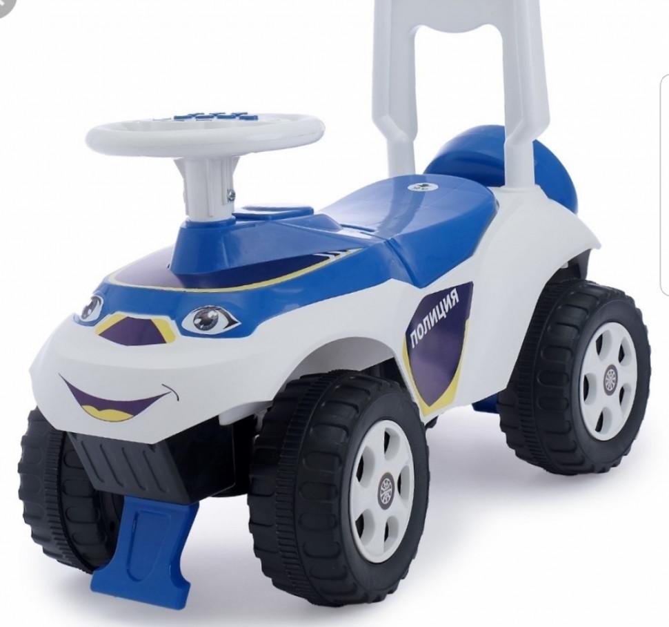 Детская машинка беговел (толокар) белый