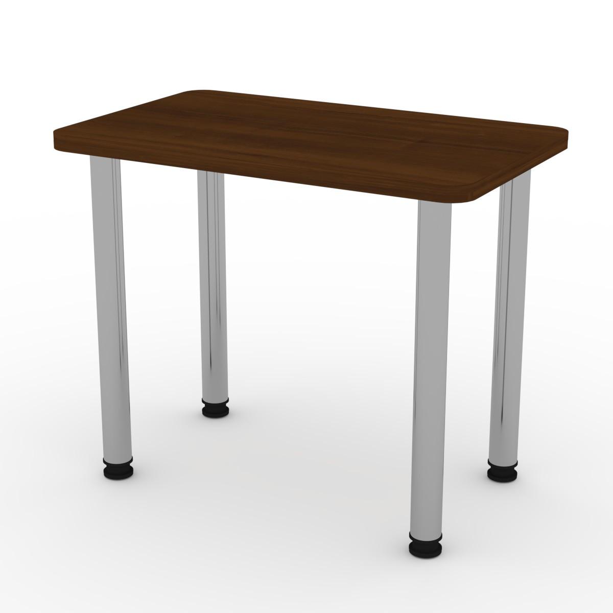 Стол кухонный КС-9 орех экко Компанит (90х55х73 см)