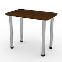 Стол кухонный КС-9 орех экко Компанит (90х55х73 см), фото 1