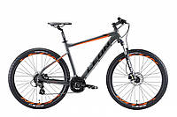 "Велосипед 27.5"" Leon XC 80 HDD 2019 (серо-оранжевый (м))"