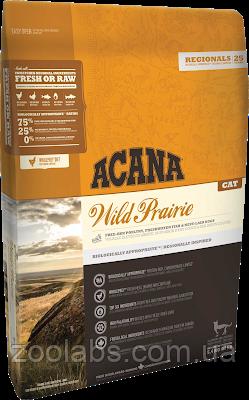 Корм Acana для кошек и котят с цыпленком | Acana Wild Prairie 0,34 кг