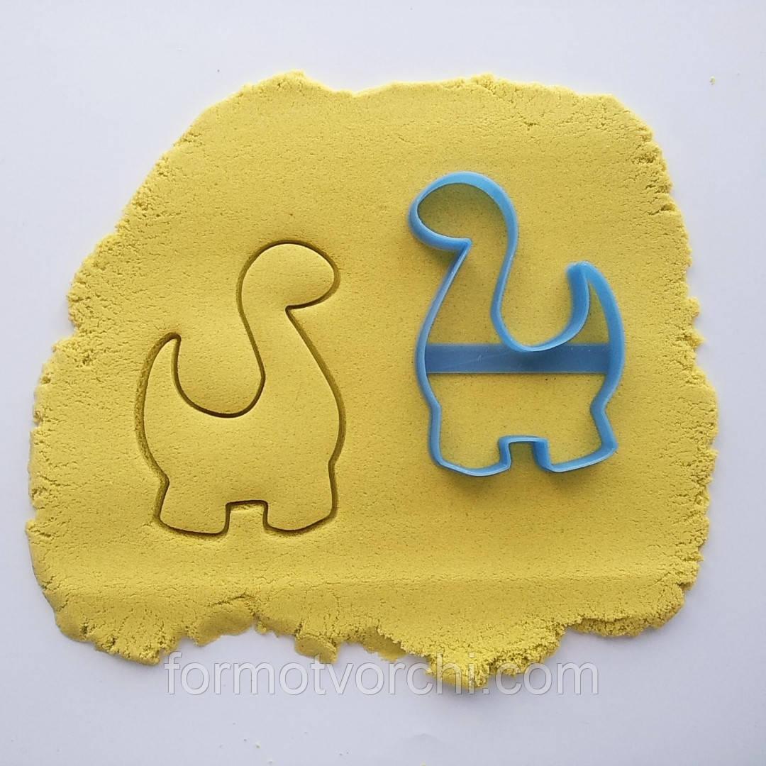 """3D формочки-вырубки для пряников """"Динозавр 2"""""""