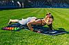 Килимок для фітнесу і йоги складний PowerPlay 4013 (180*60*0.6) Чорний, фото 5