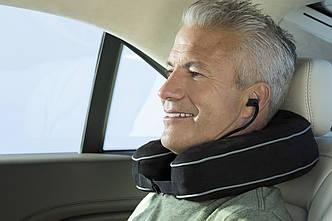 Дорожная массажная подушка с эффектом запоминания от HoMedics, фото 2