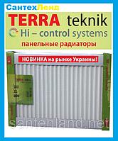 Стальной Панельный Радиатор Terra Teknik 22 500x2000 Боковое Подключение, фото 1