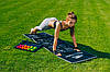 Килимок для фітнесу і йоги складний PowerPlay 4013 (180*60*0.6) Чорний, фото 6
