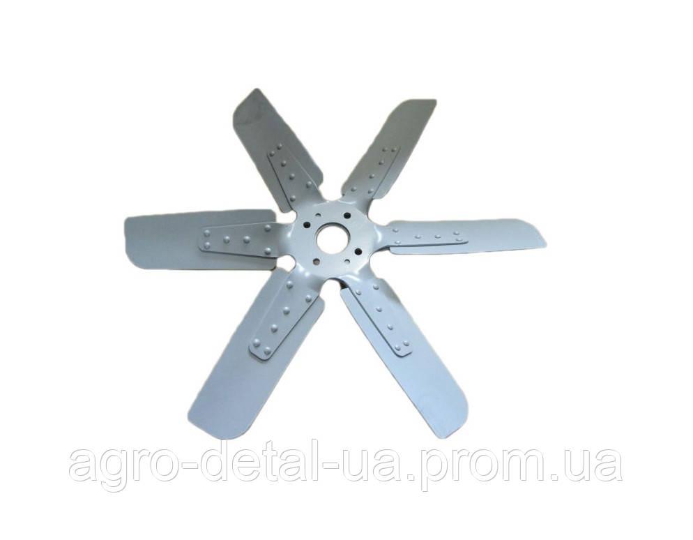 Крыльчатка вентилятора 238АК-1308012 системы охлаждения двигателя ЯМЗ 238АК комбайна ДОН 1500