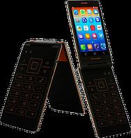 Раскладушка-Android Lenovo A588T   2 сим,4 дюйма,4 ядра,4 Гб,5 Мп,2250 мА\ч.