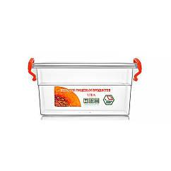 Контейнер пищевой с ручками, 1.15л, Народний продукт (арт.№57)