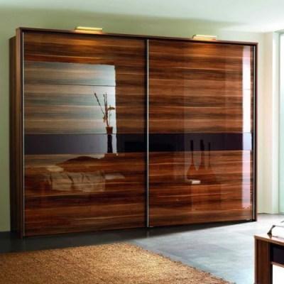 Двери раздвижные для шкафа-купе с МДФ AGT глянец