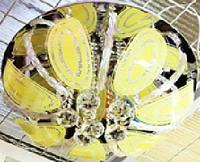 Люстра с подсветкой и пультом 80518-500 50см