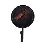 """Вешалка-крючок """"Лошадь"""", круглый, металлический"""
