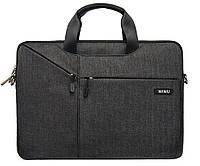 Сумка для ноутбука Wiwu Gent Brief 11.6'' black
