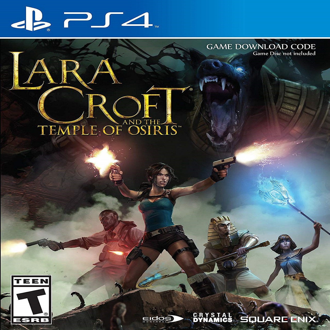 Lara Croft and the Temple of Osiris RUS