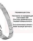 Женский Фитнес-браслет Mavens fit AK16, серебряный, фото 4