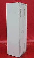 Шкаф для переодевания металлический двойной, 180х60х50 см., Серый, Б/у