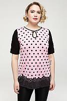Туника  Марта 54-64 розовый, фото 1