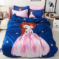Комплект постельного белья Принцесса (двуспальный-евро) Berni