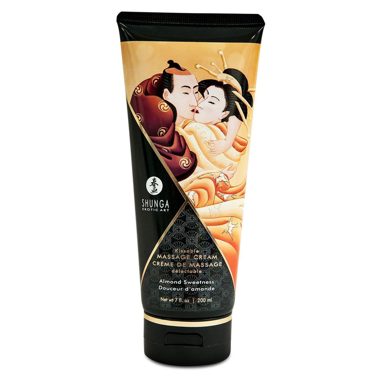 Съедобный массажный крем Shunga Kissable Massage Cream, 200 мл