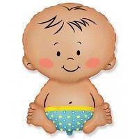 Гелієва кулька Немовля хлопчик