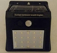 Світильник світлодіодний SMD 3,5W 350LM IP65 с д/руху на сонячних батареях, фото 1