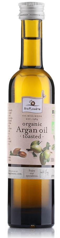 Аргановое масло Bio Planete из обжаренных орехов, 100мл