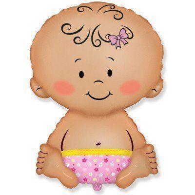 Гелієва кулька Немовля дівчинка