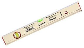 Уровень алюминиевый Technics Access 2 глазка 200 см (14-006-1)