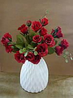 Цветы декоративные розы мини, букеты 35см
