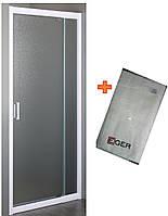 Дверь в нишу распашная 70~80*185 см+ Банное полотенце Егер