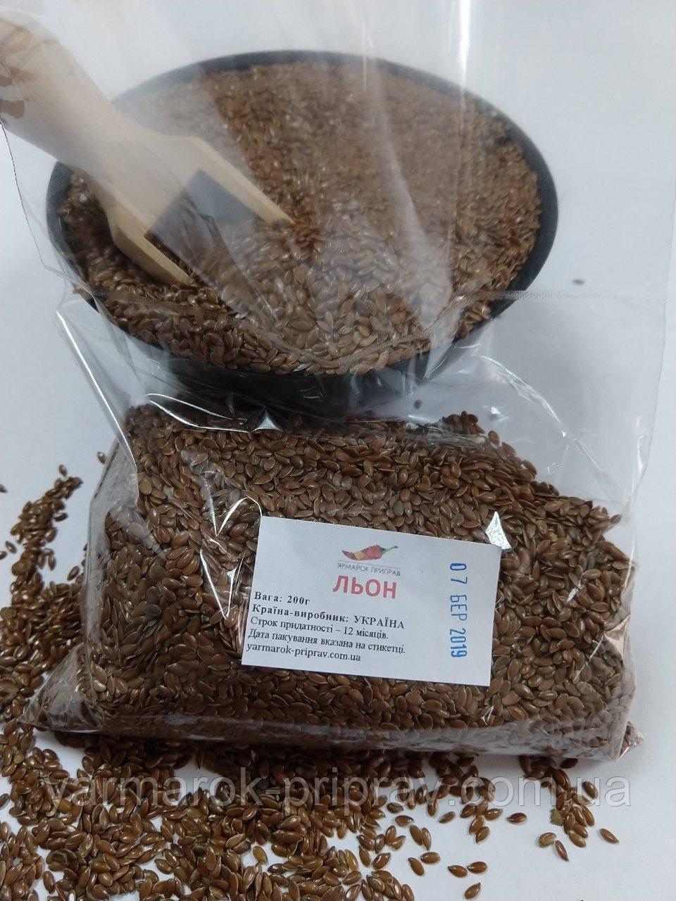 Лен семена, 200